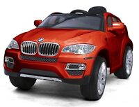 Brand New Child Ride On Car BMW X6 Doors Remote Controller more