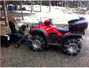 For Sale Bike and Snowblower