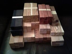 70 Rare Wood Lathe Turning Blocks