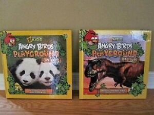 National Geographic 2 Angry Birds Books