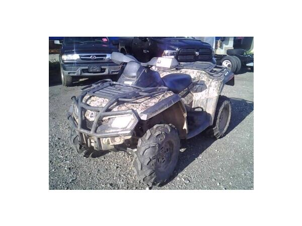 Used 2012 Can-Am OUTLANDER MAX XT CAMO