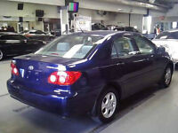 2006 TOYOTA COROLLA SE, AUTO, 117K, CERTIFIED, SUNROOF / 1 OWNER