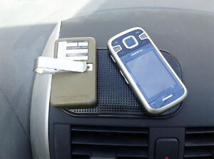 Magic sticky pads anti-slip mats for cellphones and GPS devices