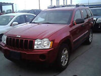 2006 JEEP GR.CHEROKEE 4X4  LOADED  6CYL  TEST DRIVE TODAY !!!