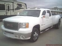 2009 GMC Sierra 3500 SLT DUALLY DURAMAX DIESEL 4X4 LEATHER LOADE