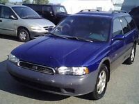 1997 SUBARU LEGACY OUTBACK WAGON AWD LOADED FOR PARTS CALL only