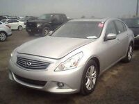 2011 Infiniti G37 Sedan X AWD Luxury 0% Int*