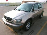 2000 Lexus RX 300 SUV Safetied    IN HOUSE FINANCE AVAILABLE