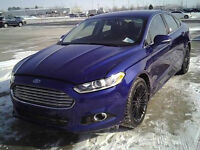 2014 Ford Fusion SE Sedan with maintenance plan!