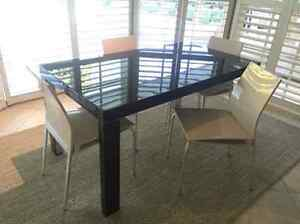FS: LIKE NEW Astrati dining table + 4 Oltre dining chairs North Sydney North Sydney Area Preview