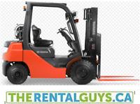 Forklift Rentals - FREE DELIVERY & PICK UP !!!