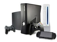 games consoles wanted for cash