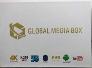 Global Media 2GB/8GB 4K 5G Wireless Android 7.1 IPTV  Box