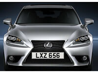 LXZ 656 – Price Includes DVLA Fees – Cherished Personal Private Registration Number Plate