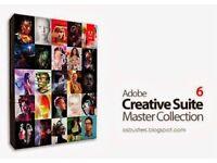 Adobe Master collection CS6 PC/MAC