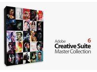 Adobe CS6 Master Collection Full Version Genuine PC/MAC