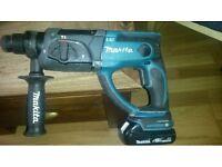Makita 18volt lxt sds combi drill comes with 18 v 1.5 ah battery ....
