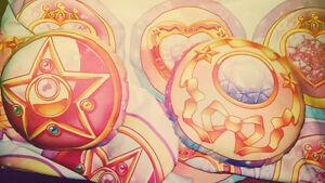 Sailor Moon Crystal Star Compact decorative pillow