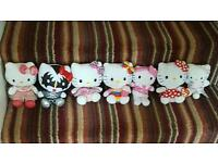 Hello Kitty teddy set job lot