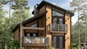 NEW Cottage + Lakefront LOT + FREE Candock = $268,000!!