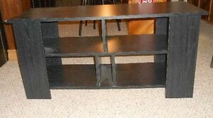 BLACK TV STAND-PICS : BLACK TV STA