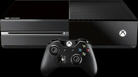 Xbox one excellent condition with 2 games