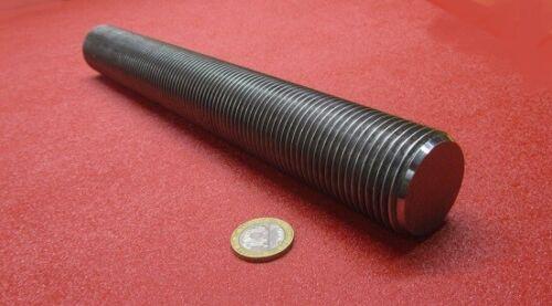 """4140 Steel Threaded Rod, Grade B7, RH, 1 1/2""""-8  x 1 Foot Length"""