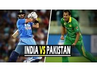 Tickets Pakistan vs India champions trophy 2017