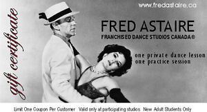 Dance lessons at Fred Astaire Dance Studio