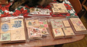 Xmas Rubber Stamp sets