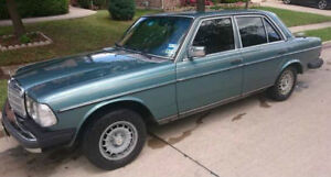 2 Mercedes 300SD Turbo diesel engines, one transmission, 1980's