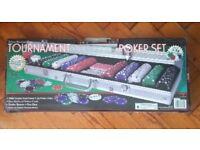 Tournament Poker Set