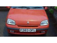 RENAULT CLIO 1.4 petrol automatic gearbox