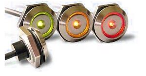 iButton probe/reader with LED (metal casing)