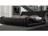 ENZO ITALIAN MODERN SMALL DOUBLE BED