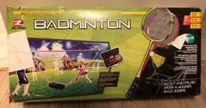 Brand New Zume Badminton Set