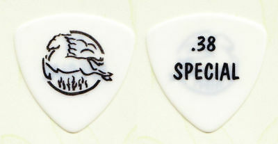 38 Special White Special Forces Guitar Pick - 2010 Tour