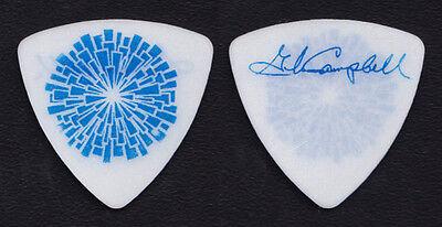 Glen Campbell Signature White/Blue Guitar Pick 2012 Goodbye Tour