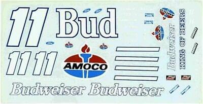 JNJ #11 Budweiser Thunderbird-Bill Elliott Nascar decal