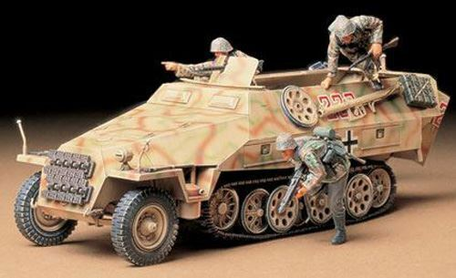 Tamiya Model Kit - Mtl SPW Sd Kfz 251/1 Ausf D Halftrack - 1:35 Scale - 35195