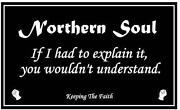Northern Soul Car Stickers