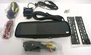 "Audiovox RVMPKG4 Rear View Mirror with Built In 4"" LCD Screen +"