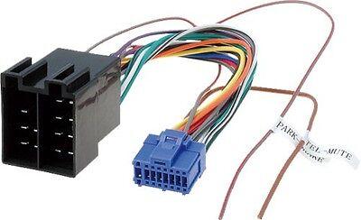 Pioneer Avic Avh Blue 16 Pin Wiring Harness Connector Power Plug Lead Wire Loom