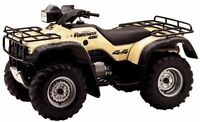 Looking for Honda 4x4 ATV