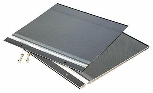 "Pack of 12 Self Adhesive Photo Album Refill Sheets, Black, Max. 8x10"" Prints"