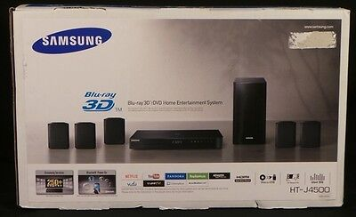 Mint Samsung HT-J4500 5.1 Channel 500W 3D Blu-Ray Home Theater System