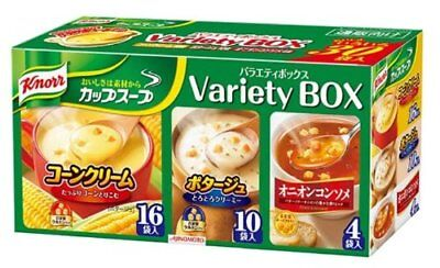 Ajinomoto Knorr cup soup Variety box 30 packs From Japan