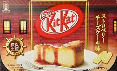12 sheets Nestle Japan Kit Kat Mini Strawberry cheese cake
