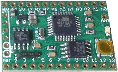 Anarduino MiniWireless with RTC, 128Mb Memory - Arduino and Moteino Compatible
