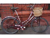 ladies dutch style bike